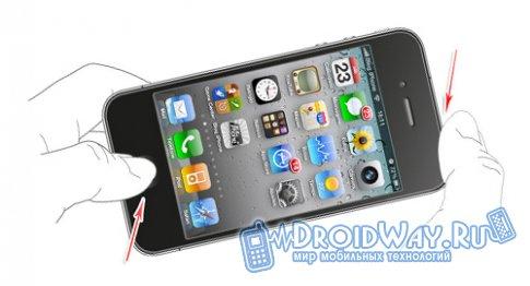 Как сделать скриншот экрана iPhone/iPad/iPod