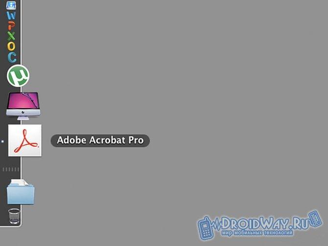 Программа Adobe Acrobat