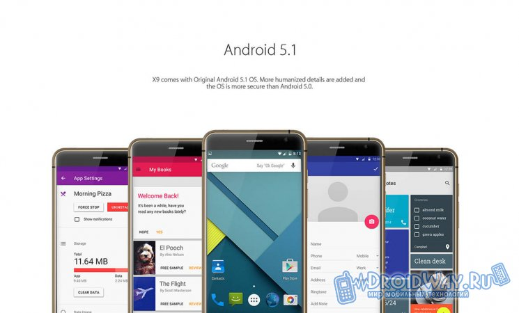 Голый Android