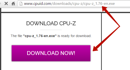 Скачивание CPU-Z