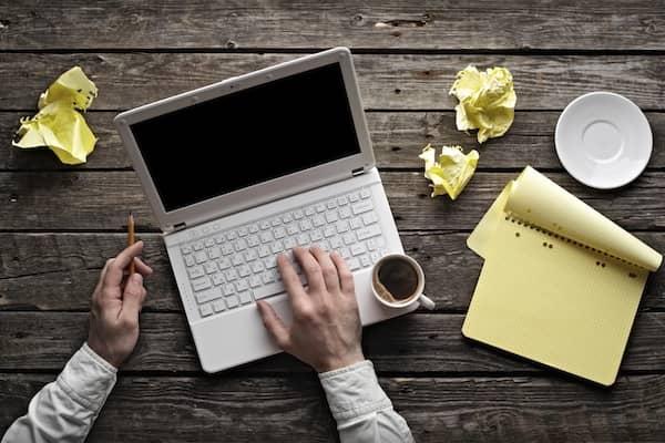 Клавиатура в работе