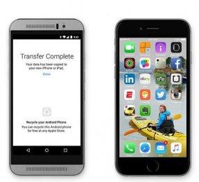 Как перенести данные с Андроида на Айфон: инструкция