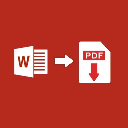 Как преобразовать Word в PDF