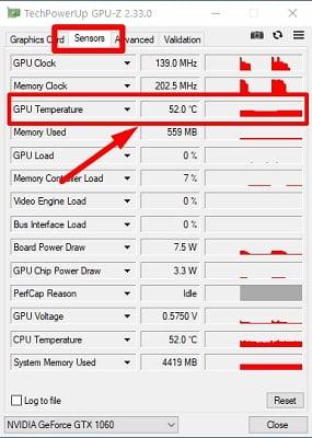 Интерфейс GPU-Z