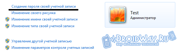 Ставим свой пароль на Windows OS