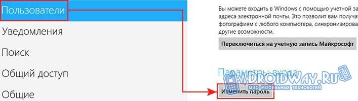 Ставим свой пароль на Windows OS