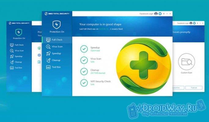 360 Total Security для windows 10